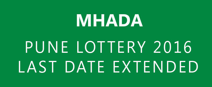 mhada lottery 2016 rules for dating